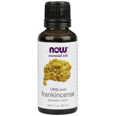 NOW Foods Essential Frankincense Oil 100% Pure Boswellia Carterii 1 oz Aroma