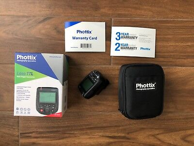 Phottix Laso TTL Flash Trigger Transmitter for Canon - Mint Condition!