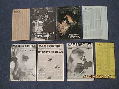 Camera Polysales Pocketbook Price Lists 3 Camera Chat Magazines 1978 1979 Book