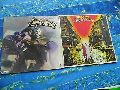 Supermax ♫ Fly With Me + Bonus ♫ Rare Lp Records #1A