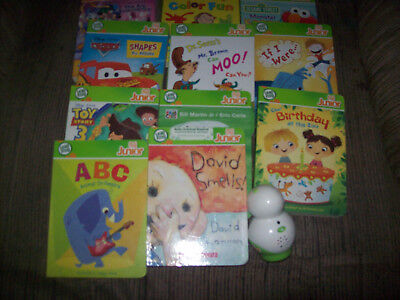 Leap Frog Tag Lot Of 11 Books Dr Suess Reading Board Book & READER