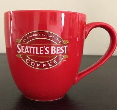 2005 Seattle's Best Red Cup Coffee Mug Cup