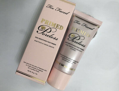 Too Faced Primed Poreless Skin Smoothing Face Primer Brand New!!