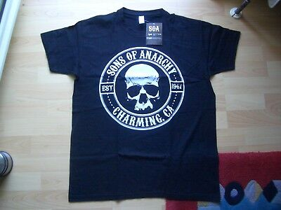 Sons Of Anarchy-Charming,CA.EST 1967.T-Shirt