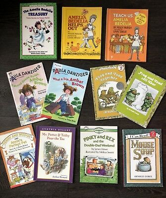 Lot 11 Amelia Bedelia Frog & Toad Henry & Mudge - I Can Read Easy Reader  Books