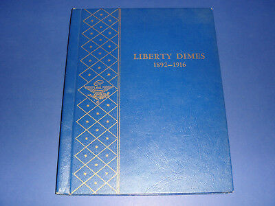 1892-1916 Liberty Barber Dime Collection Set