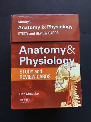 MOSBY\'S ANATOMY & Physiology Study and Review Cards Second Edition ...