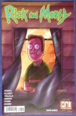 RICK AND MORTY 36 Mar 2018 9.4-9.6 NM/NM+ ONI PRESS - MADY G VARIANT COVER B!!!