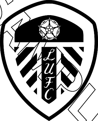 Leeds United Football Badge Vinyl Car Sticker Decal 3 00 Picclick Uk