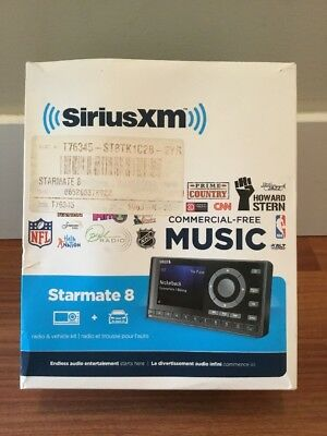New Sirius starmate 8 satellite radio car Kit! Everything Included