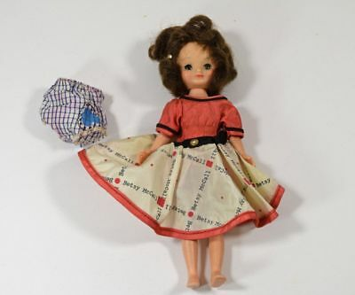 """Vintage 8"""" American Character Betsy McCall Doll for Repair & TLC"""