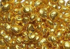 1 Grain .999 Fine 24k Gold Shot