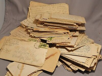 Large Collection of Over 100 WW2 Love Letters