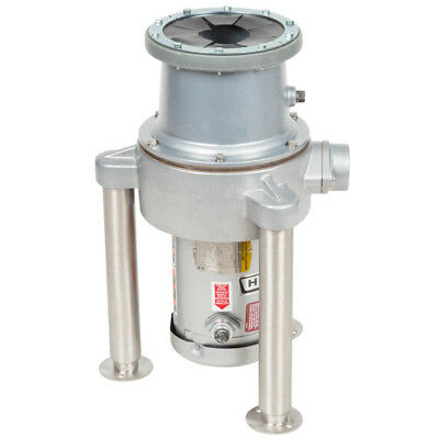 New Commercial Garbage Disposer with Adjustable Flanged Feet - 1 1/2 hp