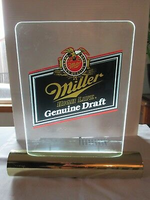 Vintage miller high life genuine draft beer bar light sign man cave vintage miller high life genuine draft beer bar light sign man cave decor aloadofball Images