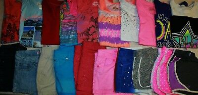 Girls Size 12 Spring/Summer Clothes Lot Of 20 Pieces