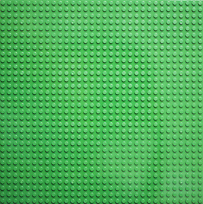 2x BASE PLATE - 32X32 STUDS 25.6x25.6 CM GREEN BASEPLATE COMPATIBLE for Lego