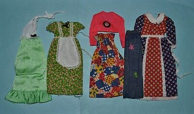 Vintage Barbie Mixed 1970's Best Buy Clothing Lot