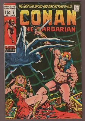 Marvel comics CONAN the BARBARIAN #3 1970  BARRY WINSOR SMITH Roy Thomas