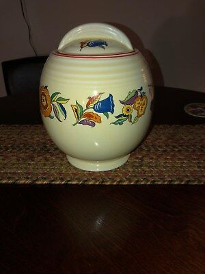 Hall China 5 band Fantasy cookie jar