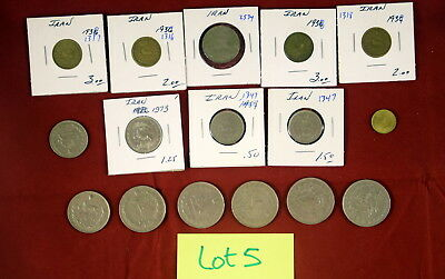 16 pc Mixed foreign coin lot (L-05) Iran