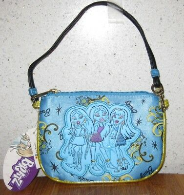Bratz Wristlet Purse/small Bag Blue ** Brand New **