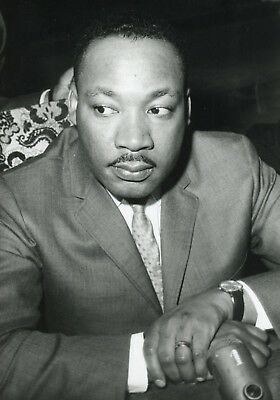 Martin Luther King Photo De Presse