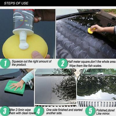 Turtle Wax 100ml Color Magic Car Paint Polish Care Hides Scratches Repair Tool