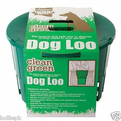 Armitage Good Boy Garden Green Dog Loo Natural Way To Dispose Of Dog Cat  Waste