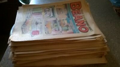 52 Beano comics from 1973..Including Christmas Issue