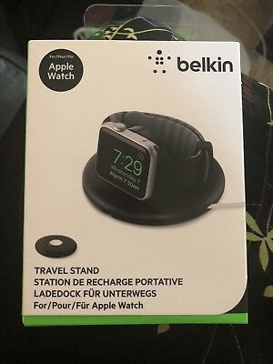 Belkin Travel Charger Stand For Apple Watch Series 1, Series 2 and Series 3, 38m