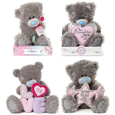 "Me to You Bears 3"" 4"" 7"" 9"" 12"" 20"" 28"" Tatty Teddy Bear Choice of Design & Size"