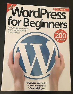Wordpress For Beginners Guide 194 Pages, Bought 2016