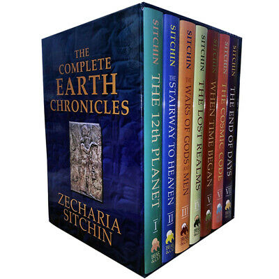 Zecharia Sitchin The Complete Earth Chronicles 7 Books Collection Set Pack NEW
