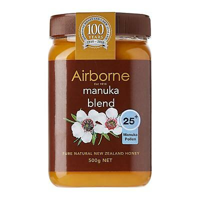 Manuka Honey MG 25+ Airborne New Zealand 500g