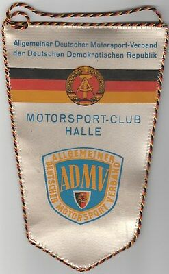 Wimpel Motorsport-Club Halle ADMV Orientierungssport Fünf Türme 12.04.1981 RAR