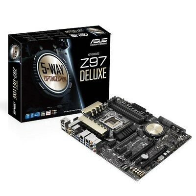 ASUS Z97-Deluxe, Mainboard LGA 1150, Dual Channel DDR3