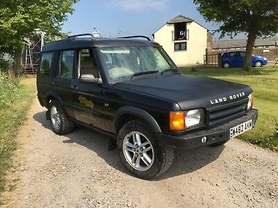 Land Rover Discovery 2 TD5 Auto off road