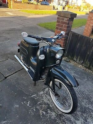 Simson Schwalbe Scooter Moped rare vintage private plate