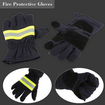 1Pair Fire Protective Gloves Anti-fire Fire Proof Waterproof Heat-proof Gloves&