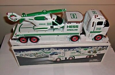2006 Multi Color Hess Toy Truck And Helicopter