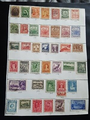 newfoundland stamps mint hinged and used collection high value b815