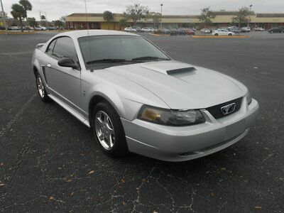 Mustang -- 2003 Ford Mustang Base 112,796 Miles Silver 2d Coupe  Auto