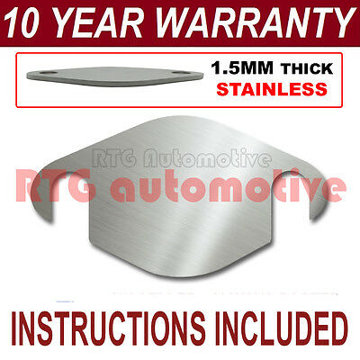 MERCEDES-BENZ A-CLASS MULTI FIT EGR BLANKING PLATE 1.5MM STAINLESS HC SEALANT