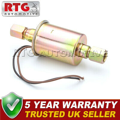 Universal Fuel Pump Petrol Diesel 120 Lph 12V Kit Car Competition Rally 9 Psi