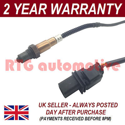 Front 5 Wire Wideband Oxygen Lambda O2 Sensor For Citroen C3 Picasso 1.6 2009 On