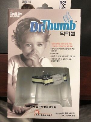 Dr.Thumb-guard stop Thumb sucking Treatment Kit For Baby & Child,small size,^^