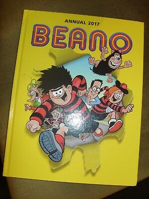 Beano Annual 2017 hardback comic Book NEW Dennis the Menace Roger the Dodger