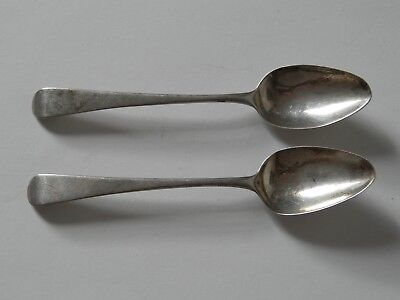 Two Sliver Georgian Spoons