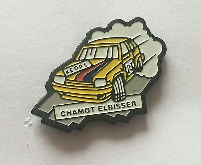 @@@ superbe pin's RENAULT 5 GT TURBO RALLYE KEOPS voiture auto @@@